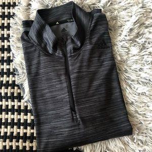 adidas ultimate tech 1/4 zip pullover men's